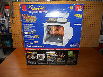 Showtime Rotisserie & BBQ Oven by Ronco