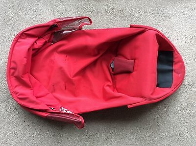 QUINNY Zapp Xtra SEAT COVER FABRIC in red for seat unit frame