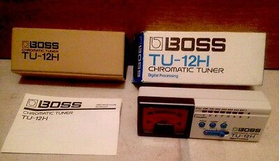 Boss High Range Digital Chromatic Tuner TU-12H. Boxed. New Other