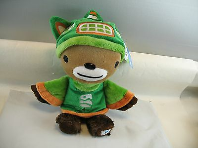 """Vancouver  2010 Olympics Sumi plush toy with tag 13.5"""""""