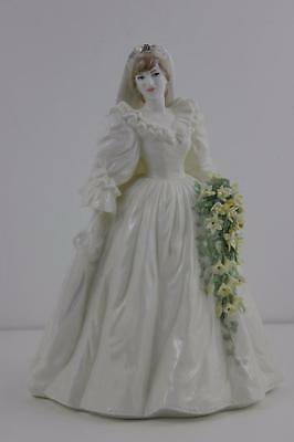 Coalport Figurine Diana Princess of Wales Ltd edition by John Bromley Signed