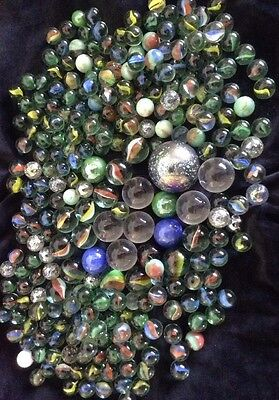 Bulk Lot Of Approx. 281 Marbles, Great Variety & Condition!