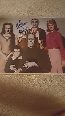 The Munsters Autographed Glossy Photo Personal Signed