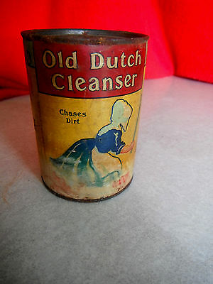 Vintage Rare 1920 OLD DUTCH CLEANSER Can UNOPENED Free Sample Size