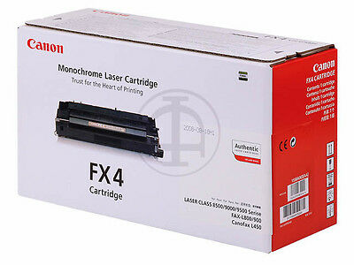 Genuine Canon Fx4 / Fx-4 / Black Cartridge 1558A003