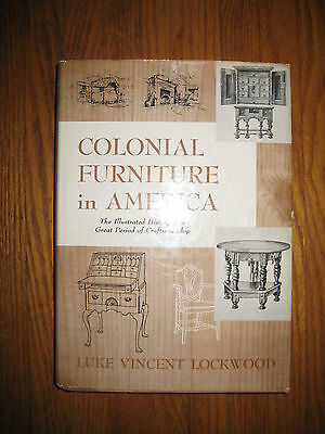 COLONIAL FURNITURE IN AMERICA, L. V. Lockwood, 1951