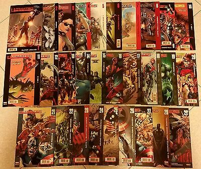 Ultimates 1/29 Run Completa - Millar Hitch Marvel Panini Comics Iron Man Thor