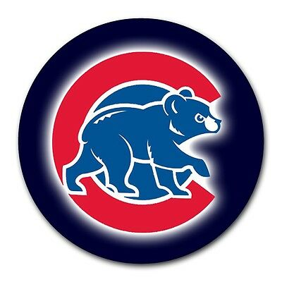 New Round Mousepad For PC Computer Laptop Mouse Pad Chicago Cubs Baseball