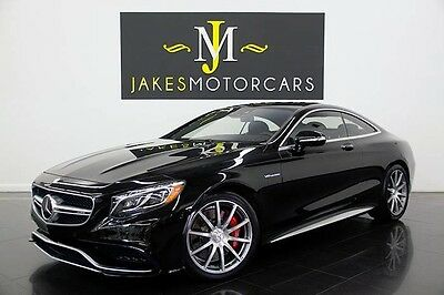 2015 Mercedes-Benz S-Class S63 AMG DESIGNO Coupe~ $178K MSRP!~ONLY 400 MILES! 2015 MERCEDES S63 AMG COUPE~DESIGNO!~$178K MSRP!~ONLY 400 MILES!~BLACK ON BLACK