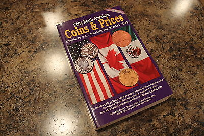 2004 North American 13'th Edition Coins And Price Guide, Book, Canada&mexico