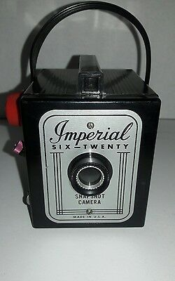 IMPERIAL SIX-TWENTY BOX Vintage Film Snapshot Camera