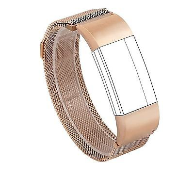 For Fitbit Charge 2 Bands, Wearlizer Milanese Loop Smart Watch Replacement - New