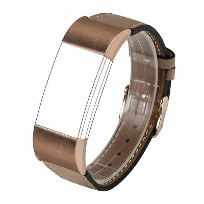 For Fitbit Charge 2 Accessories Bands, Wearlizer Lux Genuine Leather...
