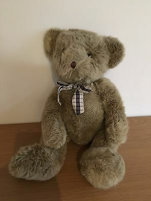 Vintage Padsworth Plush Stuffed Teddy Bear RUSS BERRIE Made in England