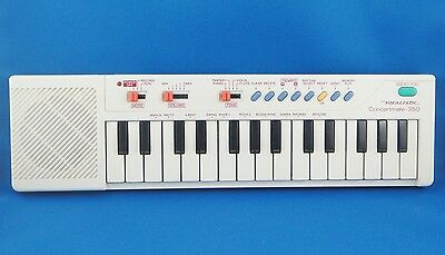 Vintage 1988 Realistic Concertmate 350 Electronic Keyboard Synthesizer GREAT !