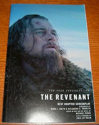 The Revenant For Your Consideration Best Adapted Screenplay Academy Oscar Awards