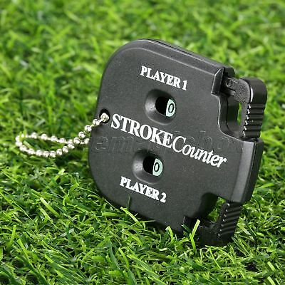 1PC Black Golf Count Shot Putt Stroke Counter Scoring Keeper Golfing Accessories