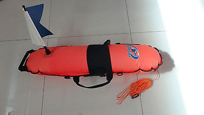 Diving Snorkeling Spearfishing Inflatable Float, Float Line, Marker Buoy