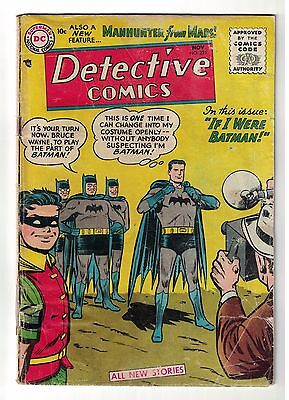 DC Comics DETECTIVE BATMAN Golden #225 1st appearance Martian Manhunter G-