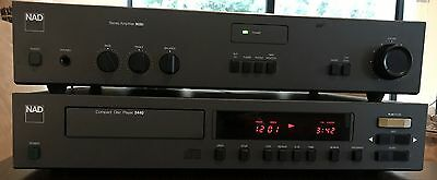 ICONIC VINTAGE NAD STEREO INTEGRATED AMPLIFIER Model 3020i and 5440