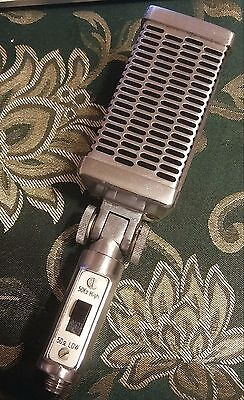 Vintage 1960's Calrad DM-16 H.L Dynamic Microphone with Original Wire Coupling
