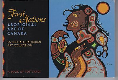 First Nations ... Aboriginal Art of Canada - a book of 30 color postcards
