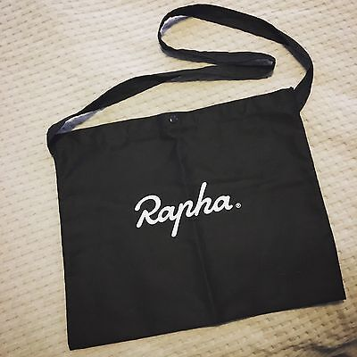Rapha musette - light cotton simple messenger cross-body cycling bag - As new