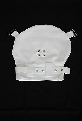 Lockable hood medical restraint humane posey hospital no Segufix Strafhaube