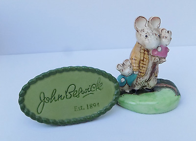 Beswick Figurine  Kitty Macbride A Family Mouse