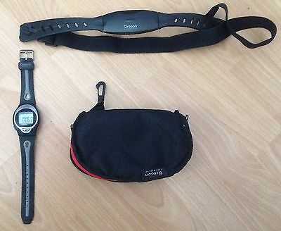 Oregon Heart Rate Monitor Model No.HR102 & Chest Band (new Batteries On It)