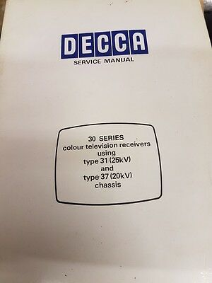 service manual for decca 30 series