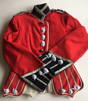 WW1 Vintage Genuine Royal Scots Officers Red Doublet Jacket Circa 1900