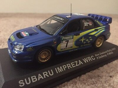 Subaru Impreza WRC Rally Diecast Car Model 2003 Solberg Not F1/Formula 1