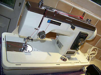 Janome Newhome Steel & Brass Gears Semi Industrial  Sewing Machine, Serviced