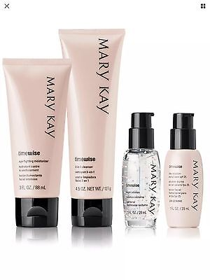 Mary Kay TimeWise Miracle Set-4 Oily/Combination Skin Full Size