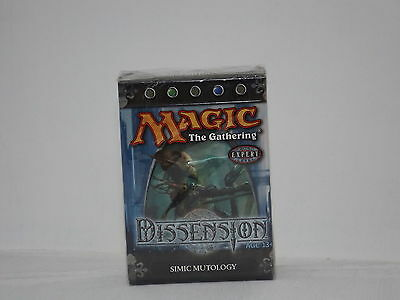 Magic the Gathering Dissensions Simic Mutology Deck  *New & Sealed*