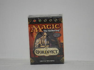 Magic the Gathering Guildpact Gruul Wilding Deck  *New & Sealed*