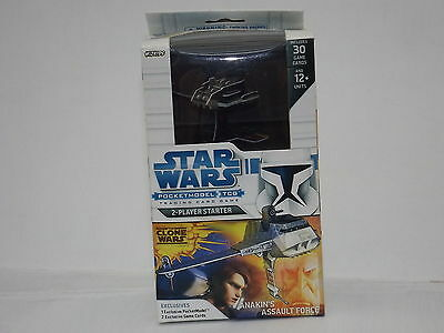 Star Wars Pocketmodel TCG Clone Wars Anakins Assault Force  *New & Sealed*