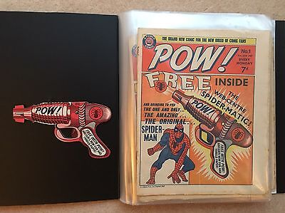 Pow! And Wham! The Full Set #1-#86 - Odhams/marvel - 1968/1969 + Free Gifts