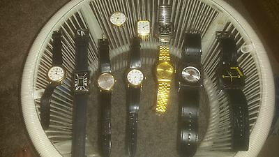 Men's Watches For Spares And Repairs X 10