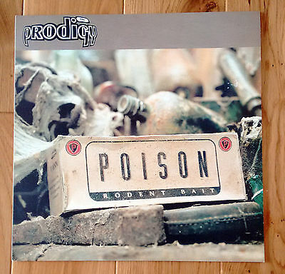 """Prodigy - Poison 4-Track 12"""" Vinyl 1995 In Excellent Condition XLT 58"""