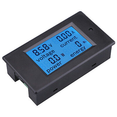 100/50/20A Digital Volt LCD Voltage Watt Current Power Meter Ammeter Voltmeter