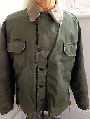 US Navy 60s Deck Jacket L