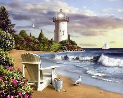 "Counted Cross Stitch Kit ""Tranquil Cove"" by Andrea's Designs"