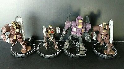 Mechwarrior House Kurita Lot of 4 Unique Mechs