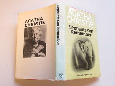 Good - Elephants Can Remember - Agatha Christie 1972-01-01 A few marks. Wear and