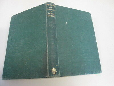 Acceptable - Swallows and Amazons - Ransome, Arthur 1945-01-01 Cracked hinge. No