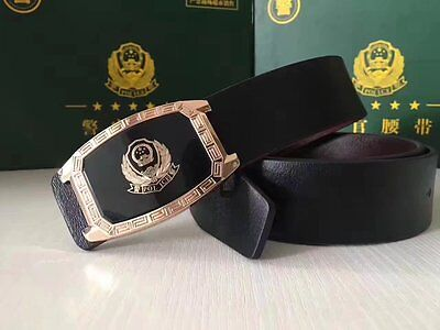 15's series China General Police Commissioner Genuine Leather Belt