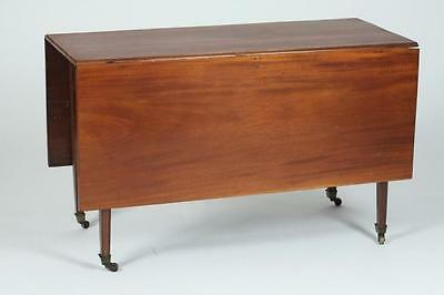 "19TH CENTURY AMERICAN CHERRY DROP LEAF TABLE, 19th Century. - 29 1/2""... Lot 415"