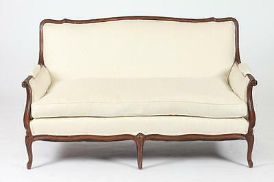 FRENCH LOUIS XV- STYLE SOFA WITH DOWN CUSHION, 20th Century. Unmarked... Lot 504